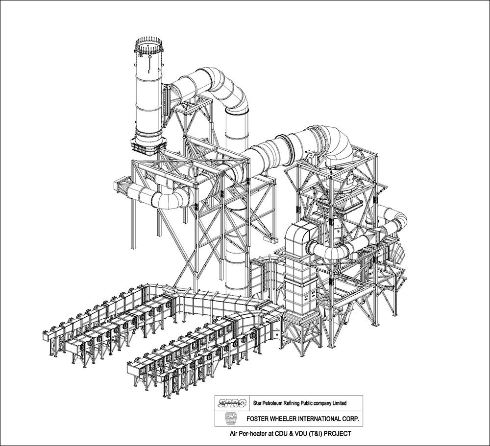 Air Per-heater at CDU & VDU (T&I) Project